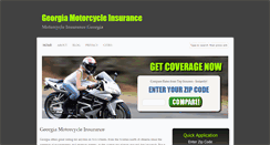 Preview of georgiamotorcycleinsurance.org