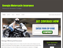 Tablet Preview of georgiamotorcycleinsurance.org